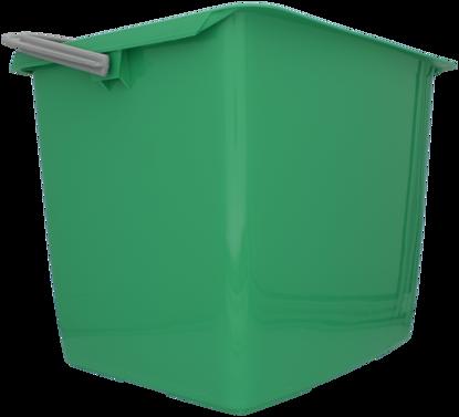 Billede af Dit spand firkantet 13 l grøn