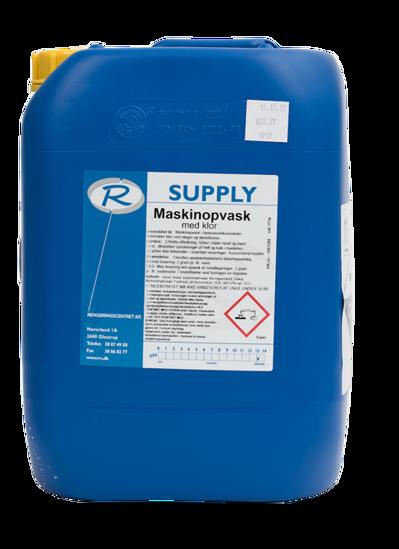 Billede af Supply maskinopvask m/klor12,5