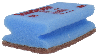 Billede af 3M svamp nylon ridsefri blå