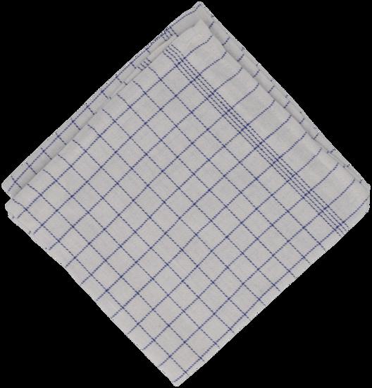 Billede af Viskestykke blå 50x100 cm.