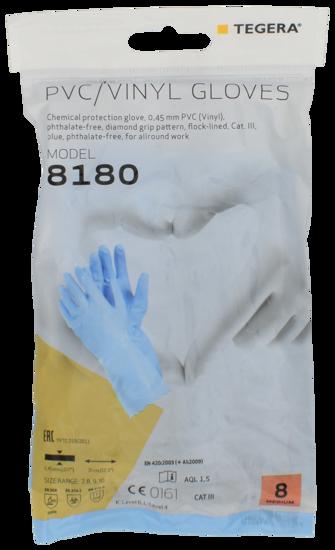 Billede af Gummihandske allergi str. M