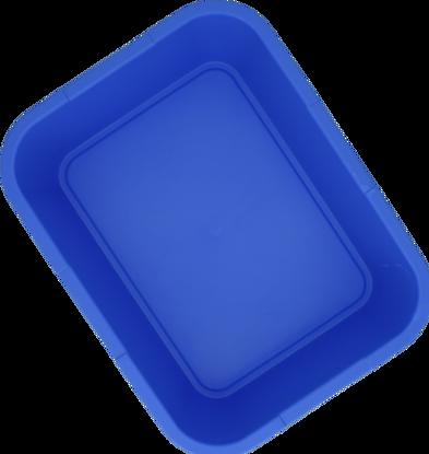 Billede af Dit plastbakke blå